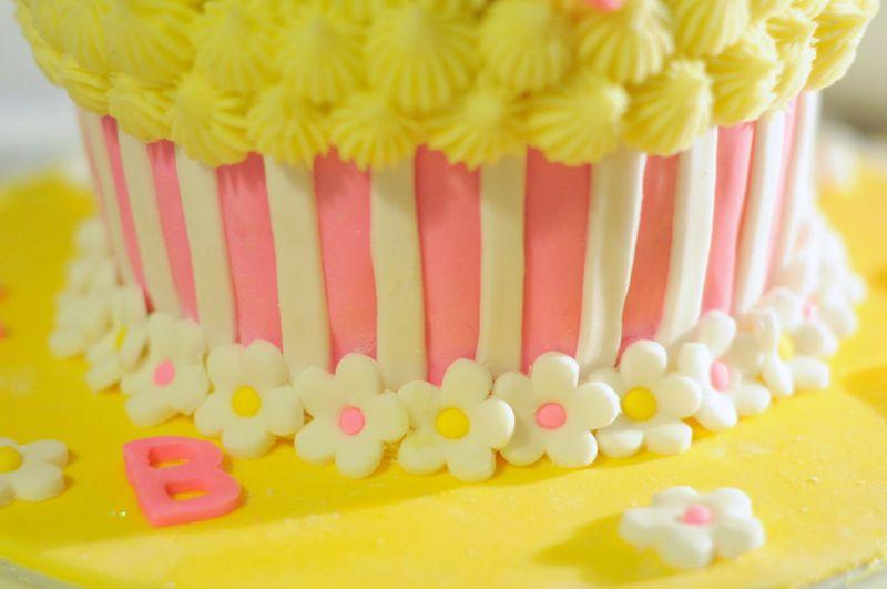 Hello Kitty Giant Cupcake Juniper Cakery Bespoke Cakes In