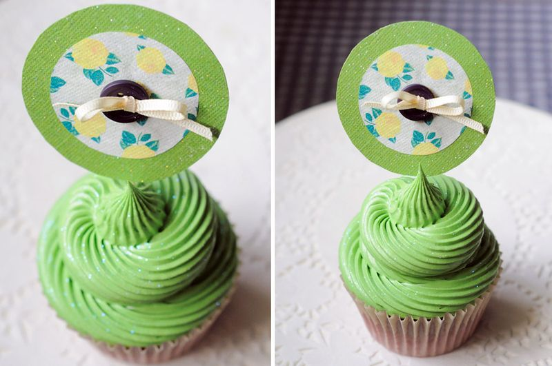 Cupcaketopper